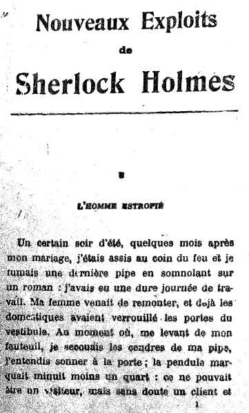 page of baker the exploits of mr sherlock dr h watson and master raymond chandler books file doyle nouveaux exploits de sherlock djvu