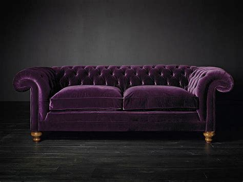 Purple Tufted Sofa ashes and crimson roses it s raining tufted couches