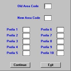 us area codes prefix mlul mailing utilities