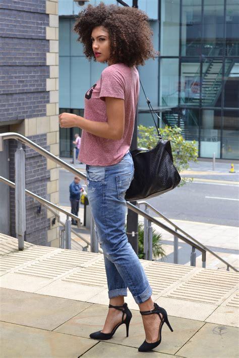 zara boyfriend jeans  mango  shirt ootd