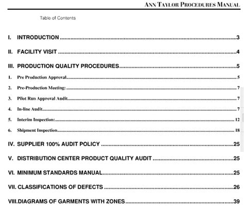 quality manual template for manufacture quality manuals quality procedures and quality standards