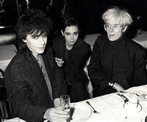 Ex wife of duran duran s nick rhodes auctions off andy warhol wedding