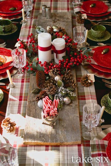 idee per tavola natalizia 30 semplici idee fai da te per la tavola natalizia fito