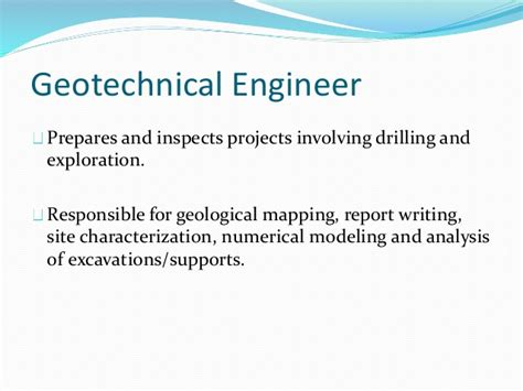 Geotechnical Report Writing by Geotechnical Engineering Dams