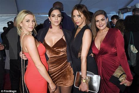 who is kristen doute dating now the vanderpump rules stassi schroeder flaunts cleavage in very low cut jumpsuit