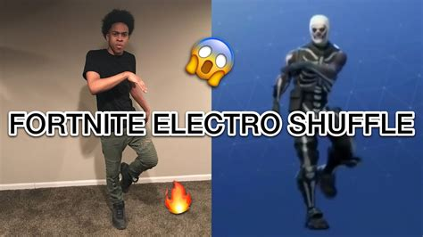 fortnite electro shuffle how to do the fortnite in real electro
