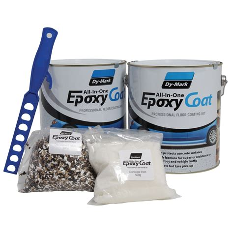 dy 8l clear epoxy garage floor coating kit bunnings