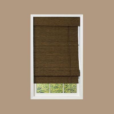 designview maple providence bamboo shade 48 in w