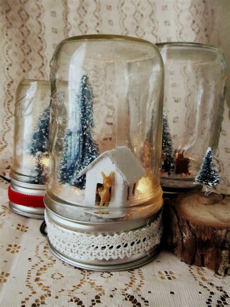 how to make mason jar lights with christmas lights diy light up mason jar christmas scene
