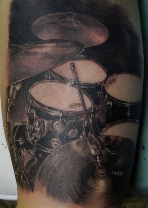 13 amazing musical instrument tattoos tattoo com