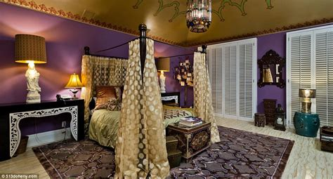purple and gold bedroom christina aguilera releases new pictures of 13 5m beverly