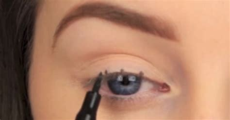 eyeliner tutorial dots how to make perfect winged eyeliner every time how to