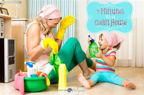 how to clean a home 7 minute race to clean house