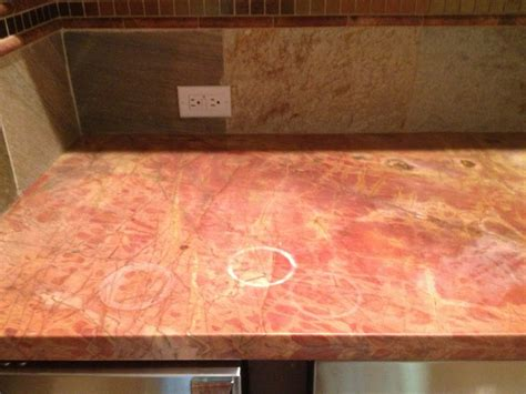 Water Rings On Granite Countertops by Etch Remover For Correcting Dull Spots On Marble And