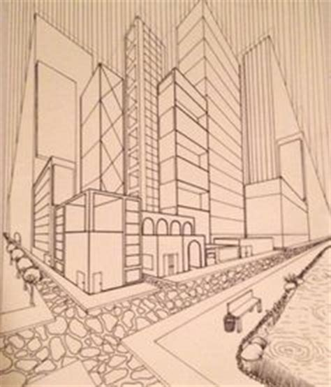 2 Drawings In 1 by 1000 Images About Perspectief On One Point