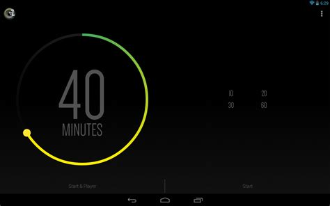 android timer sleep timer turn android apps on play