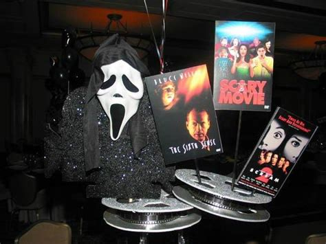 themes in a horror film hollywood theme bat bar mitzvah sweet 16 party
