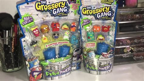 grossery series 3 grossery series 3 new series unboxing will we