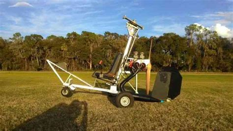 reduced bensen b8m gyrocopter with spare engine blades
