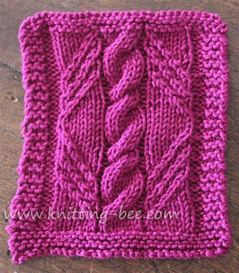 www knitting designs free cable in a knitting pattern panel created by