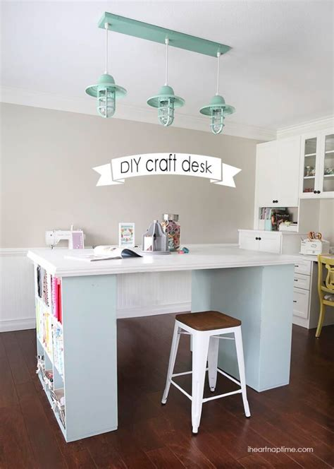 Room Desk Ideas Colorful Craft Room Design Board Happiness Is