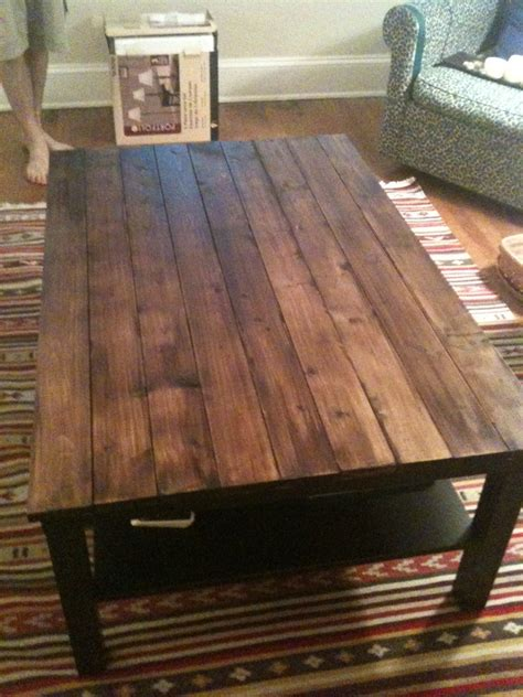 Rustic Coffee Table Diy Diy Rustic Wood Coffee Table Farm Table Manteresting
