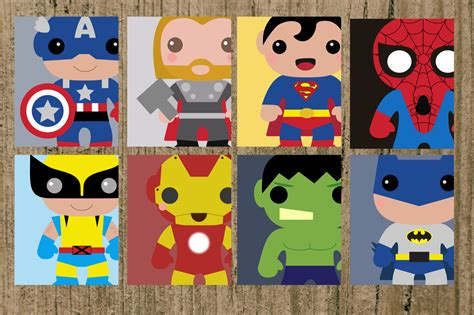 baby gear galore avengers superhero nursery prints set