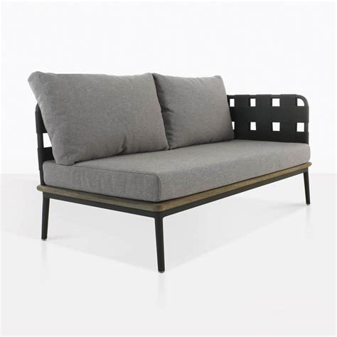 sectional warehouse space outdoor sectional loveseat left arm fog design