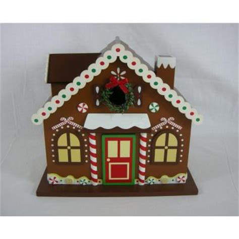 open house signs home depot home bazaar gingerbread house birdhouse hb 8001s the home depot