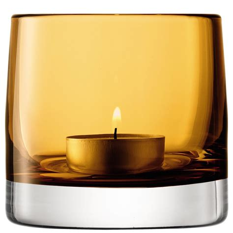 light holder lsa light colour tealight holder designer amber tea light