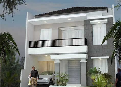 floor house minimalist design house 2nd floor desain rumah minimalis