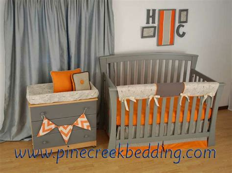 Orange Crib Bedding 119 Best Images About Orange In The Nursery On Pinterest Dust Ruffle Lumbar Pillow And Orange