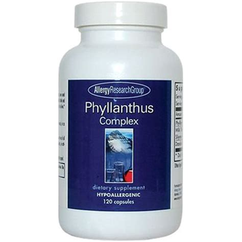 Liver Detox Complex Side Effects by Allergy Research Phyllanthus Complex Liver Supplement