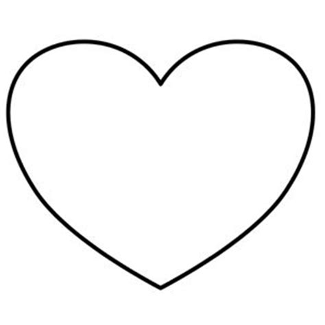 heart pattern line heart template with lines clipart best