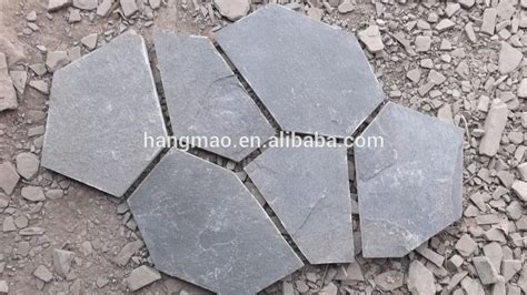 low price irregular landscaping slate rock for paving