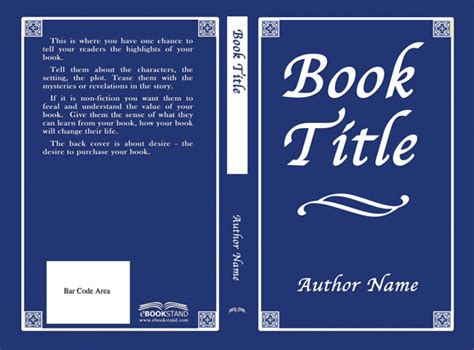 Free Book Cover Templates Free Book Cover Templates