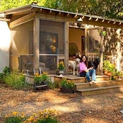 cottage style porch for ranch homes cottage style comeback for a 1950s stucco ranch porch