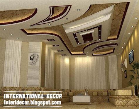 Modern Suspended Ceiling by Modern False Ceiling Designs For Living Room 2017