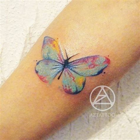 watercolor tattoos az butterfly tattoos and and watercolors on