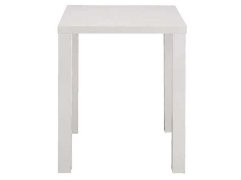 table 60x60 cuisine table de bar jackie 2 coloris blanc vente de table