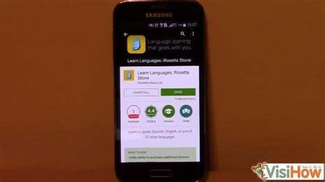 rosetta stone on android install rosetta stone for android os visihow