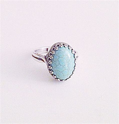 quot quot turquoise sterling silver ring 183 emily thai