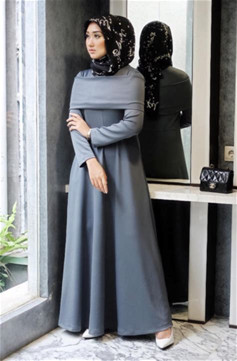 desain gamis terbaru dian pelangi model baju muslim untuk santai desain dian pelangi