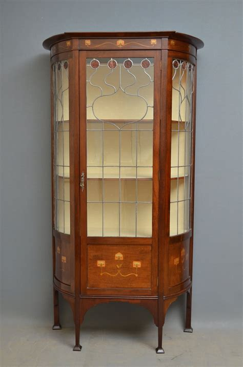 art nouveau china cabinet art nouveau display cabinet antiques atlas