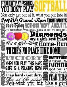 printable softball quotes printable softball quotes quotesgram