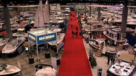 boat show west coast setup of the seattle boat show the west coast s largest
