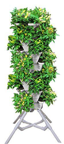 vertical gardening vegetable tower indoor outdoor