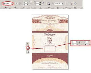 Download Template Undangan Corel Draw X4 | download template undangan mazaya mz 018 versi coreldraw
