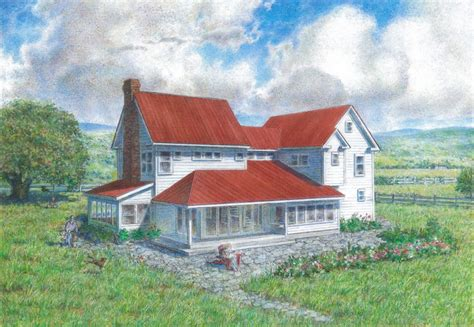 farmhouse homesteads pinterest farm house farms and farmhouse plan design house plans gallery american