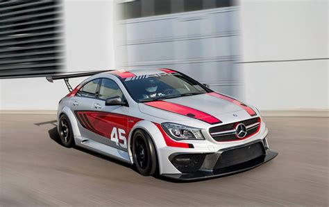 mercedes race car mercedes cla45 amg race car concept 2013 frankfurt